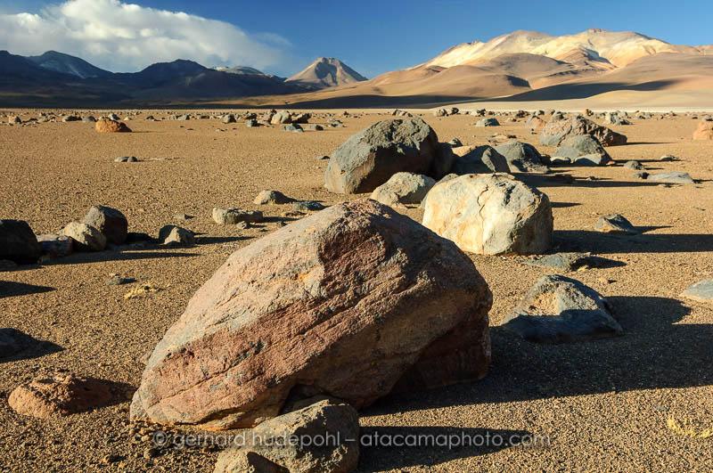 Bolivian Altiplano desert landscape
