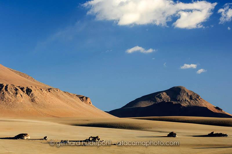 Landscape of the Bolivian Altiplano, Salvador Dali desert