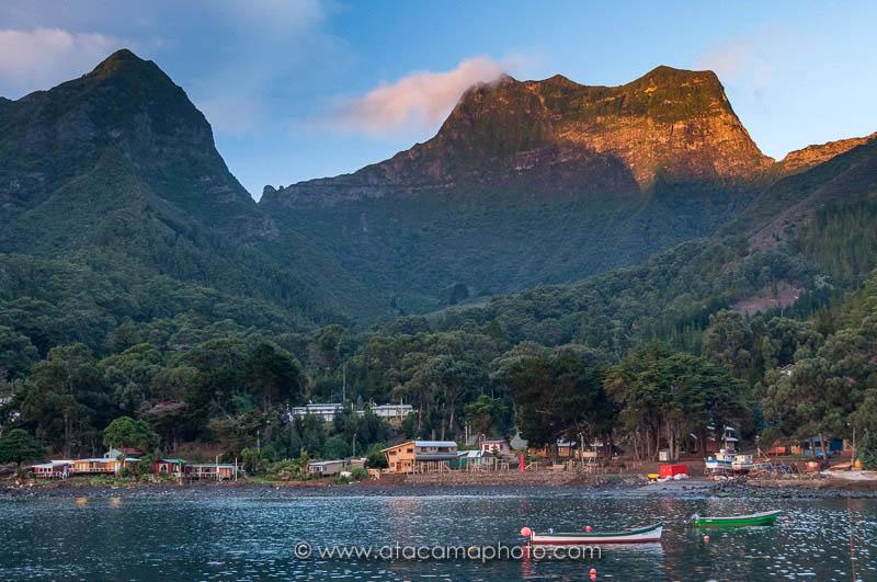 San Juan Bautista and Cerro El Yunque, Robinson Crusoe Island