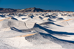 Campo de Piedra Pomez, an otherwordly volcanic landscaped in Catamarca Argentina