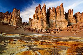 Catedrales de Tara rock formations, San Pedro de Atacama, Reserva Nacional Los Flamencos