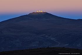 Paranal Observatory at sunrise with Venus Belt