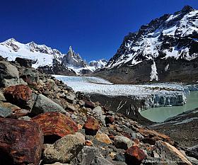 Glaciar Grande and Cerro Torre, Los Glaciares National Park, El Chalten Argentina
