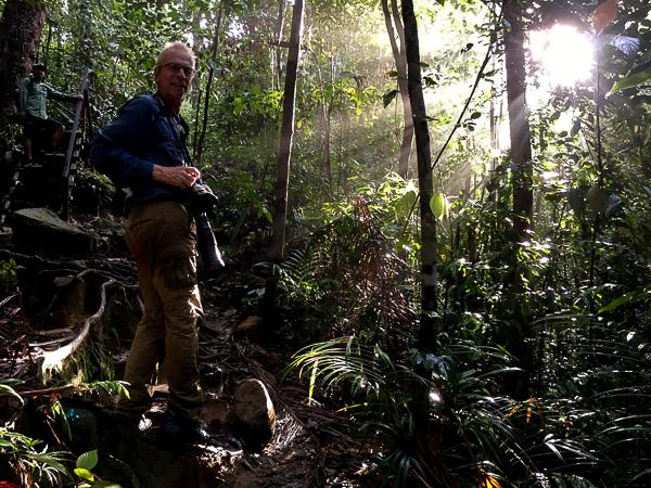 Gerhard Huedepohl at Bako National Park, Borneo