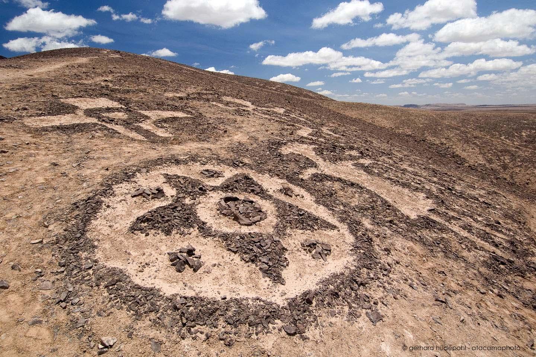 Atacama Desert Landscape Volcanoes Lagoons And Altiplano