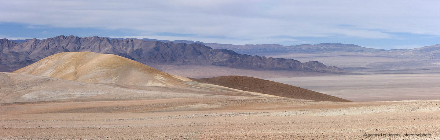 Central Atacama desert, one of the driest places on earth